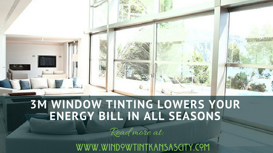 3m window tinting all season kc