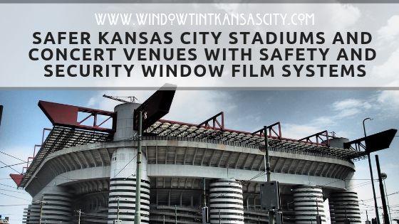 Safer stadiums and concert venues kansas city